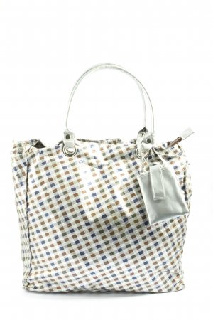 Brasi&Brasi Carry Bag check pattern casual look