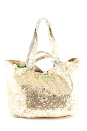 Brasi&Brasi Borsa shopper oro stile casual