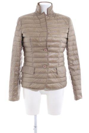 Brasi&Brasi Between-Seasons Jacket natural white quilting pattern casual look