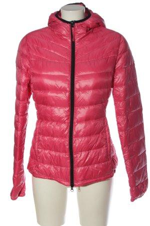 Brasi&Brasi Veste mi-saison rose motif de courtepointe style décontracté
