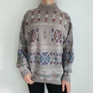 Vintage Oversized Sweater multicolored