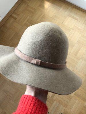Zachte hoed beige-camel