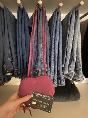 Braun Büffel Handtasche Echtleder