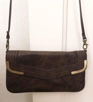 Braun-Goldene Tasche von Accessorize, wie neu