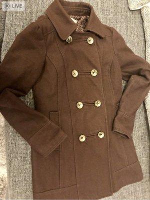 Bershka Manteau court brun