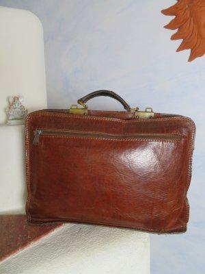Braun Original The Bridge Ledertasche Aktentaschen Lehrertasche Handtasche Vintage
