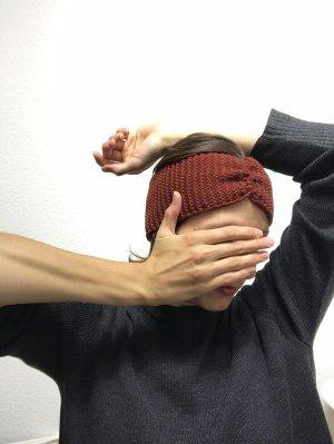 Braun rotes Stirnband