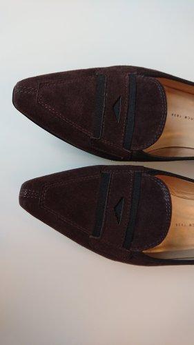 Peter Kaiser Chaussure décontractée noir-brun foncé