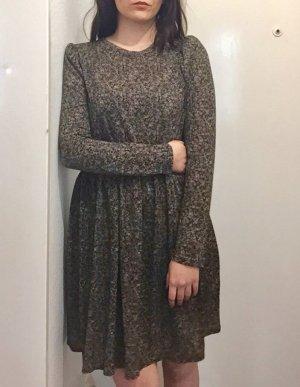 Braun-Schwarz Kleid