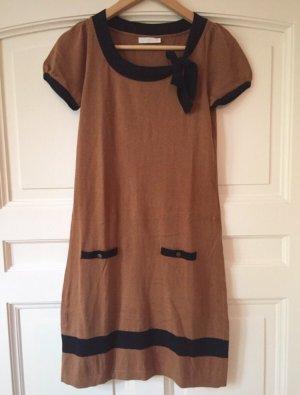 Braun-schwarzes Winterkleid von Promod, Gr.36