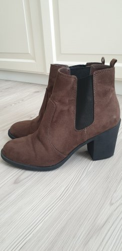 H&M Botas de tobillo marrón