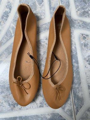 Braune Ballerinas H&M