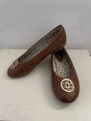 Chiara Mazzini Classic Ballet Flats gold-colored-brown