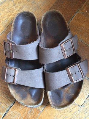 Birkenstock Comfort Sandals grey brown-light brown