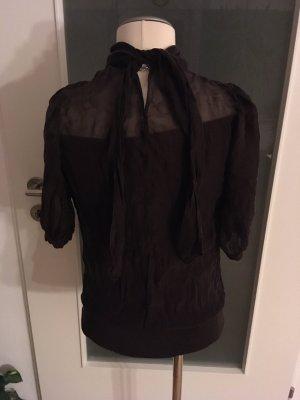 Braune Bluse