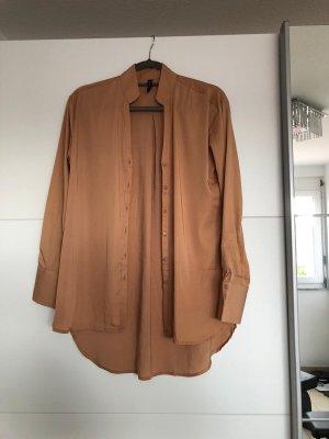 Braune Bluse in Größe 34