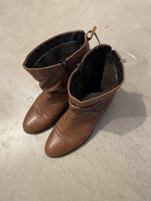 Freeflex Borceguíes marrón-coñac