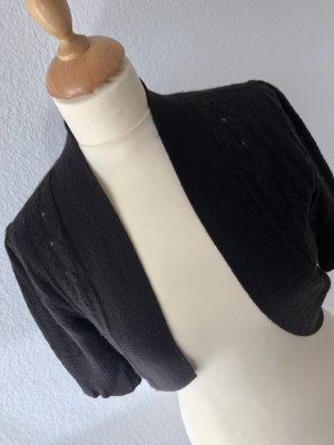 Allude Knitted Bolero dark brown cashmere