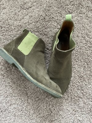 Marco Polo Chelsea Boot gris brun-ocre