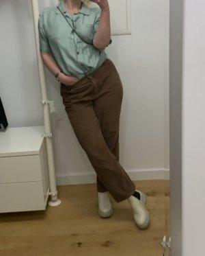 Brunetti Spodnie sztruksowe Wielokolorowy Bawełna