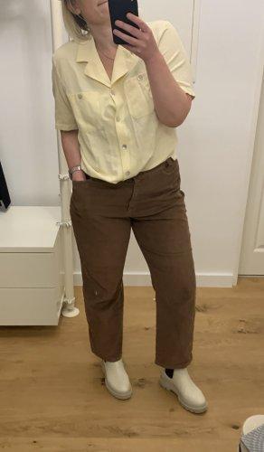 Brunetti Pantalon en velours côtelé multicolore coton