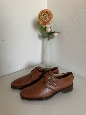 Monks brown-cognac-coloured