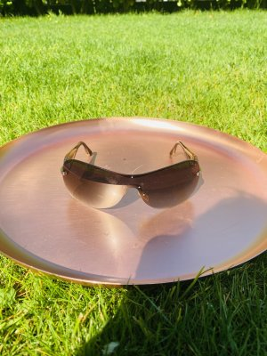 Christian Dior Oval Sunglasses bronze-colored-gold-colored