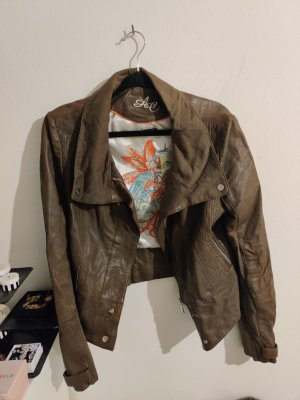 Arma Collection Leather Jacket brown-ocher