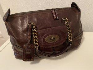 Braune Echtledertasche von Boss Orange