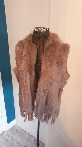 unknown Fur vest multicolored