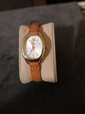 braune Fossil Uhr