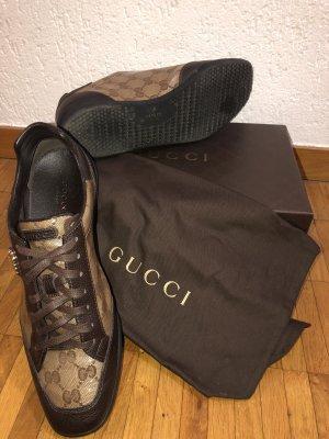 Braune Gucci Sneaker