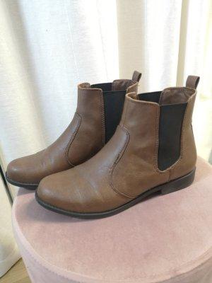 braune H&M Chelsea boots Gr. 37 zu verkaufen