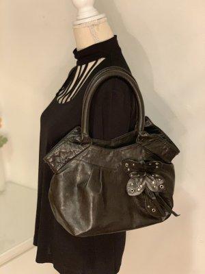 Braune Handtasche von Hallhuber