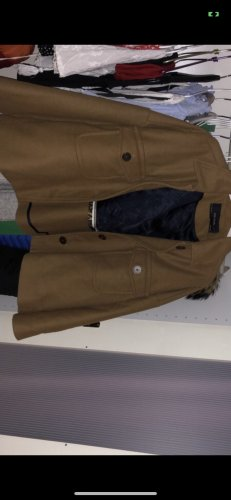 braune herbstliche Jacke mit Knöpfen von ZARA in S