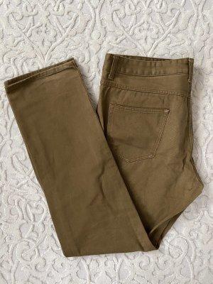 H&M Divided Pantalone a vita bassa marrone chiaro