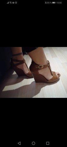 Guess High Heels brown-cognac-coloured
