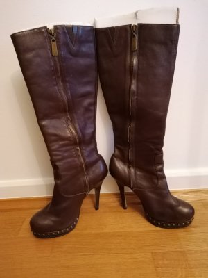 Buffalo High Heel Boots brown