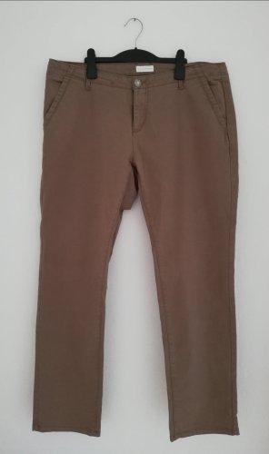 Charles Vögele Stretch Trousers grey brown