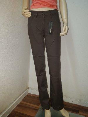 FlashLights Pantalone a vita bassa marrone