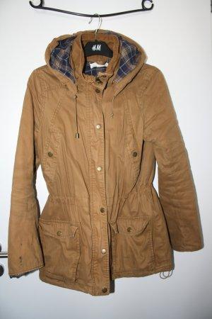 Braune Jacke/Parka von H&M Gr.36
