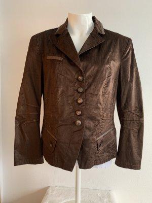 Braune Jacke von Biba Gr. 42