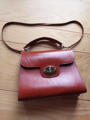 braune Jean-Louis Scherrer Tasche Vintage Look
