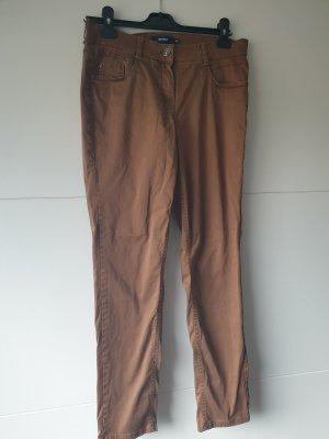 Gardeur Jeans a gamba dritta bronzo