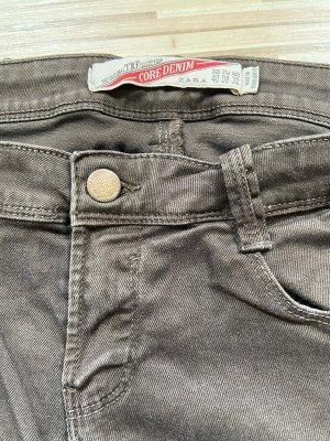 Braune Jeans - Mango
