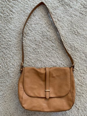 Braune Kunstleder Tasche von Sfera