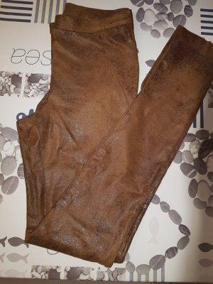 B.young Pantalon cigarette brun-brun foncé