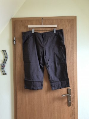 Janina High-Waist-Shorts grey brown
