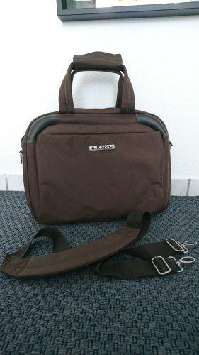 Kappa Funda para portátil marrón-marrón oscuro