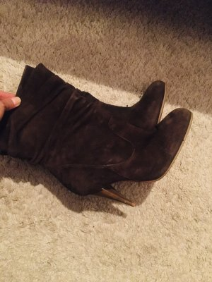 Braune Leder Boots, Buffalo, Gr 37